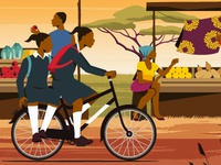 World Bicycle Relief storyboards