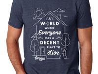 Habitat for humanity T-shirt