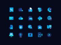 渐变风科技icon