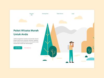 Landing Page webdesign web design app ux ui