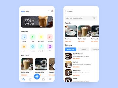 I Like Coffee ui ux design mobile