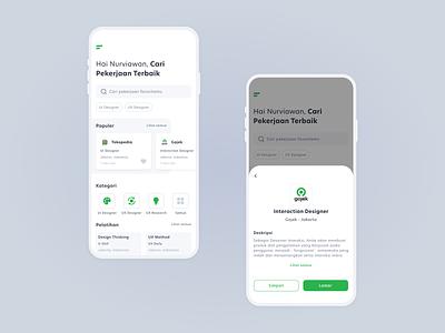 Lowongan Kerja - UI user interface job design app ux ui