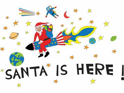 Santa Is Here !