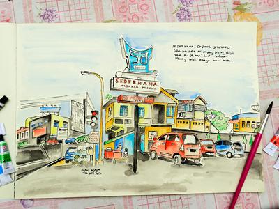 Urban sketches - Jambi City