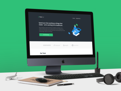 Prekari Labs Website Design
