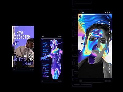 MAV FARM Highlights highlights socialmedia ecosystem screen technology animation logo instagram innovation identity design branding