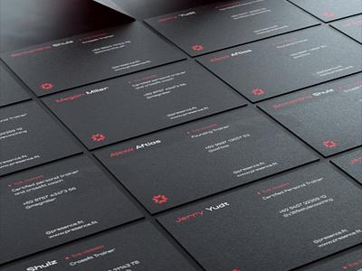 Presense merch sports bottle 3d animation fitness app business card identity design branding