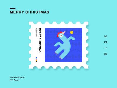 邮票插画系列