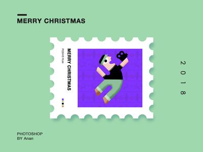 原创邮票插画系列