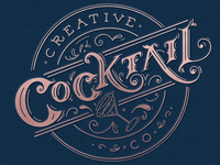 Creative Cocktail Co. Branding