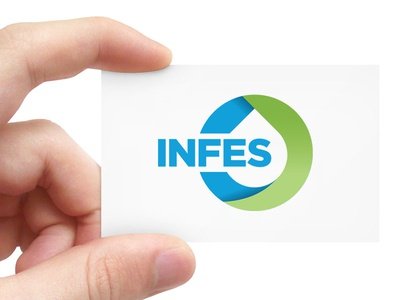 INFES logo company construction treatment water infes
