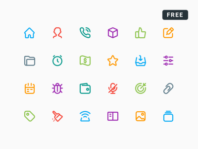 SMLN (Smart Lines Icons) - Free