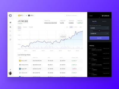Crypto Dash Ui trade market ux ui dash crypto
