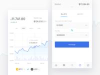Crypto Mobile Ui