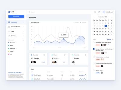 Taskbox experience concept