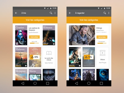 Feed mobile design feed android app interface ux ui