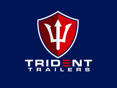 logo for trident trailers trident vehicles trailers
