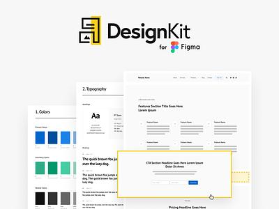 DesignKit design mockups website figma design system style guide styleguide wireframe design wireframe kit wireframes wireframe web design figmadesign