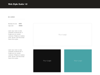 Webstyleguide template