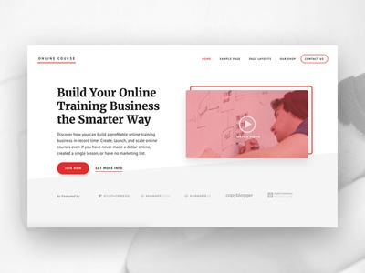 Online course intro