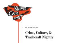 Knife Gun Pen
