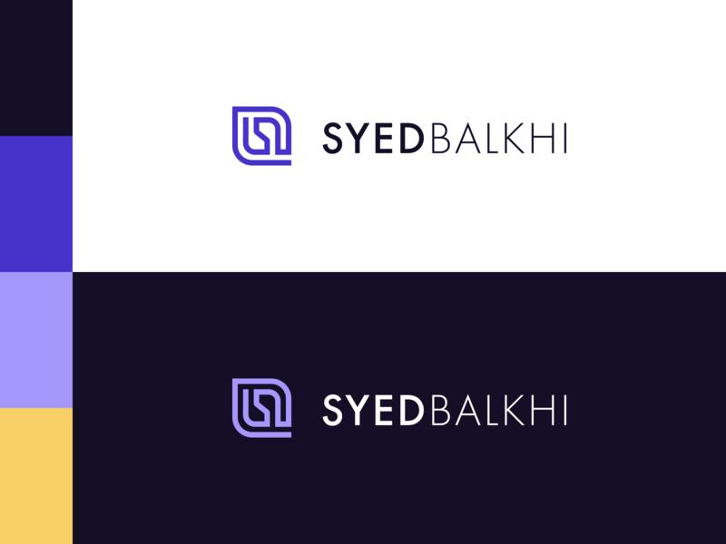 Syed Balkhi Logo Design
