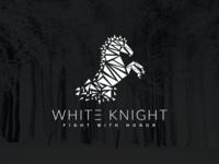 White KNIGHT #Horse