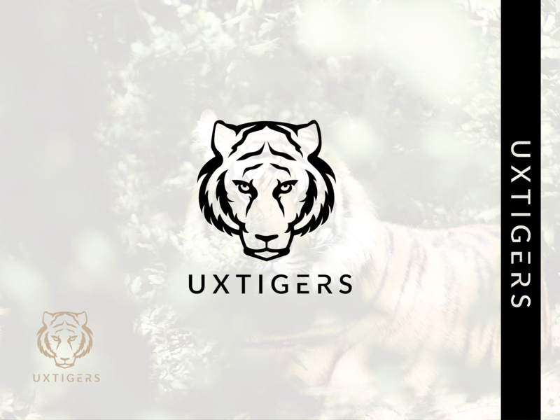 Tiger wildlife animal logo tiger tiger logo animal ui ux minimalist logo design minimalist logo lettering illustrator branding graphic design beautifu logo design vector minimal minimalist design logo flat design