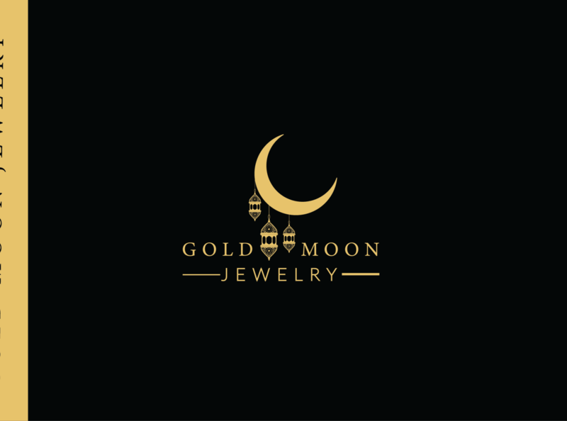 Logo design logo graphic design ui ux minimal beautifu logo design design minimalist design moonlight jewelry logo jewelry moon