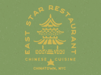 East Star Restaurant Logo II