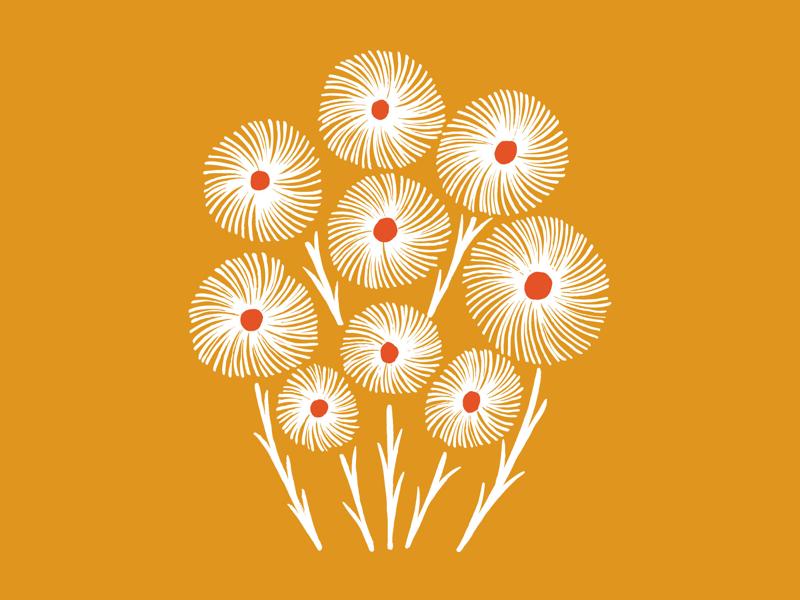 Bouquet illustration flowers
