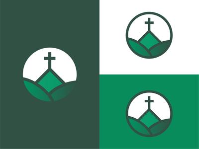 Fellowship Baptist Church Collingwood design minimal flat illustration flat  design logo design branding icon logo