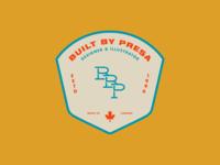 Built By Presa   Badge Design