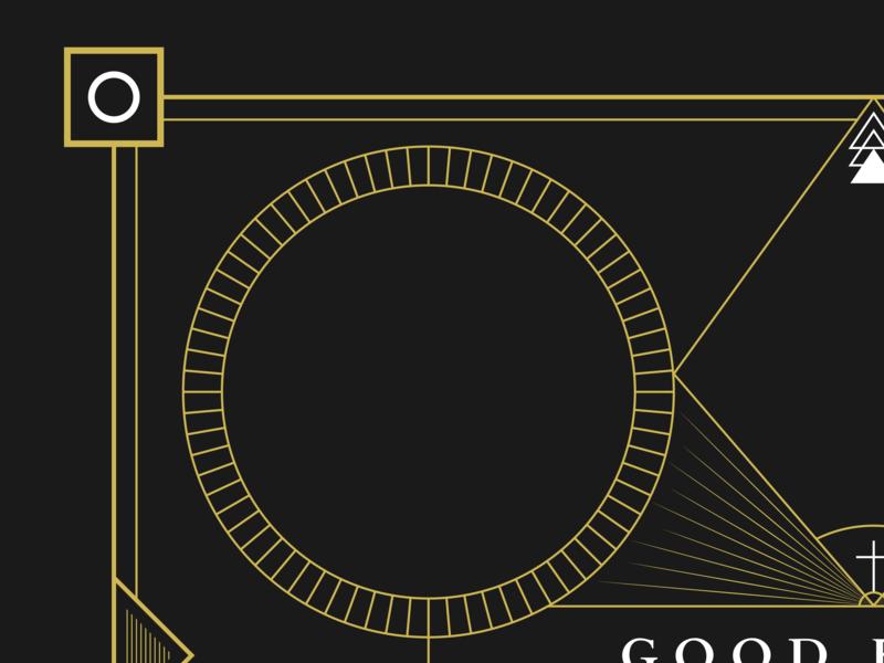 Good Friday | WIP vector illustration typography minimal flat  design flat design flat illustration mono line monoline