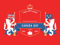 Canada Day Badge | Alternate Version