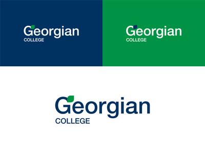 Georgian College | Rebrand Pt. 2 wordmark helvetica icon typography logo branding design minimal