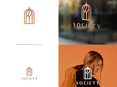 Society adobe monogram fashion graphicsdesign branding design logo illustrator