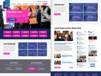 Legal Services Website Redesign