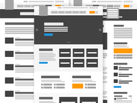Legal Services NYC Wireframes