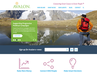 Avalon Homepage Redesign