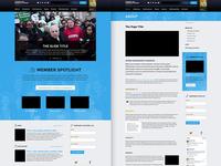 Compete Homepage & Interior