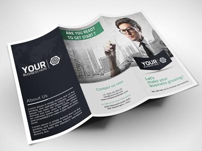 Creative tri fold corporate brochure 21