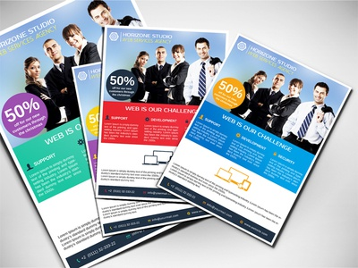 Creative Web Services Flyer by Mohamed Dribbble – Web Flyer