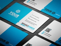 Creative Corporate Business Card 26
