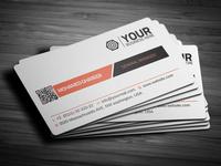 Creative Corporate Business Card 28