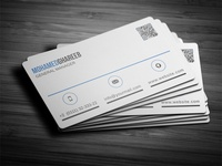 Creative Corporate Business Card 30