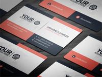Creative Corporate Business Card 31