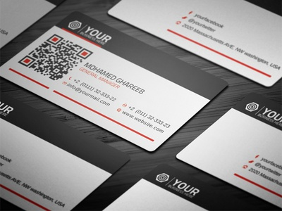 Creative Corporate Business Card 32