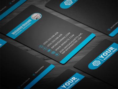Creative Corporate Business Card 33