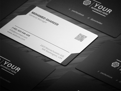 Creative Corporate Business Card 35